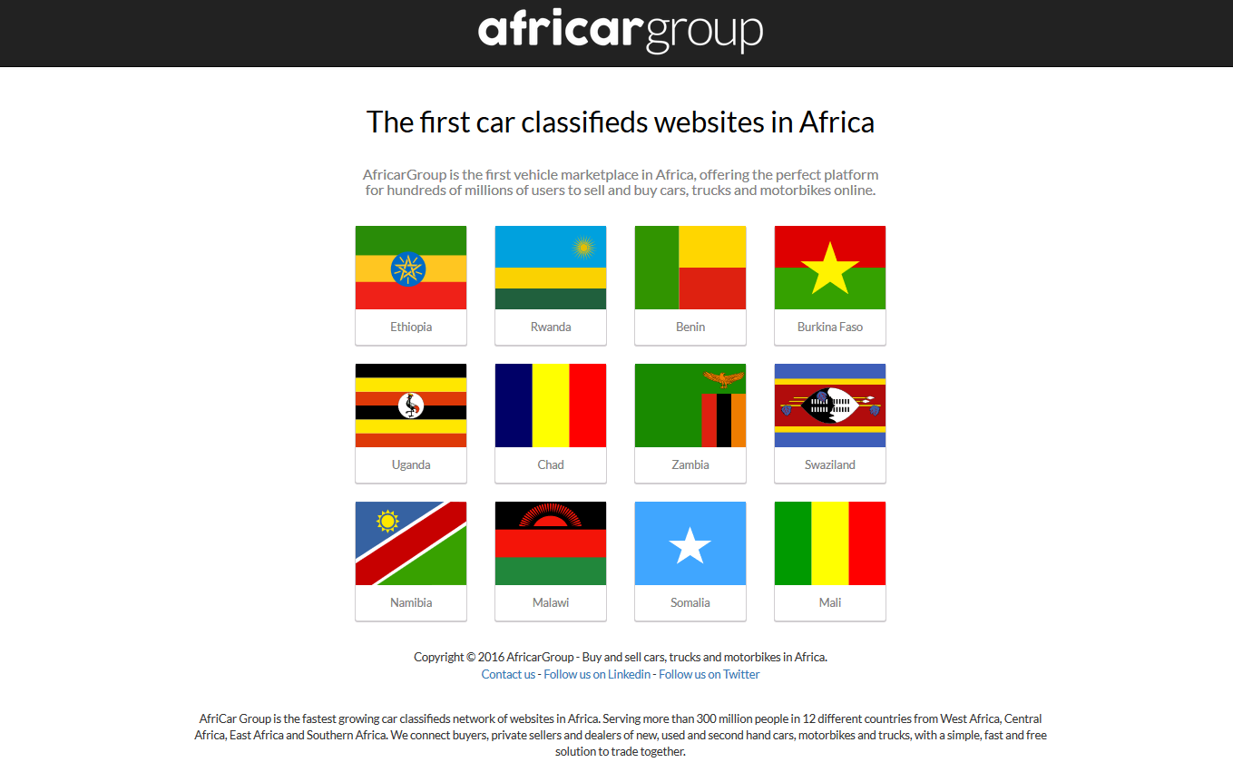 Swaziland - AfricaCar Group Launches First Car Classifieds Network ...