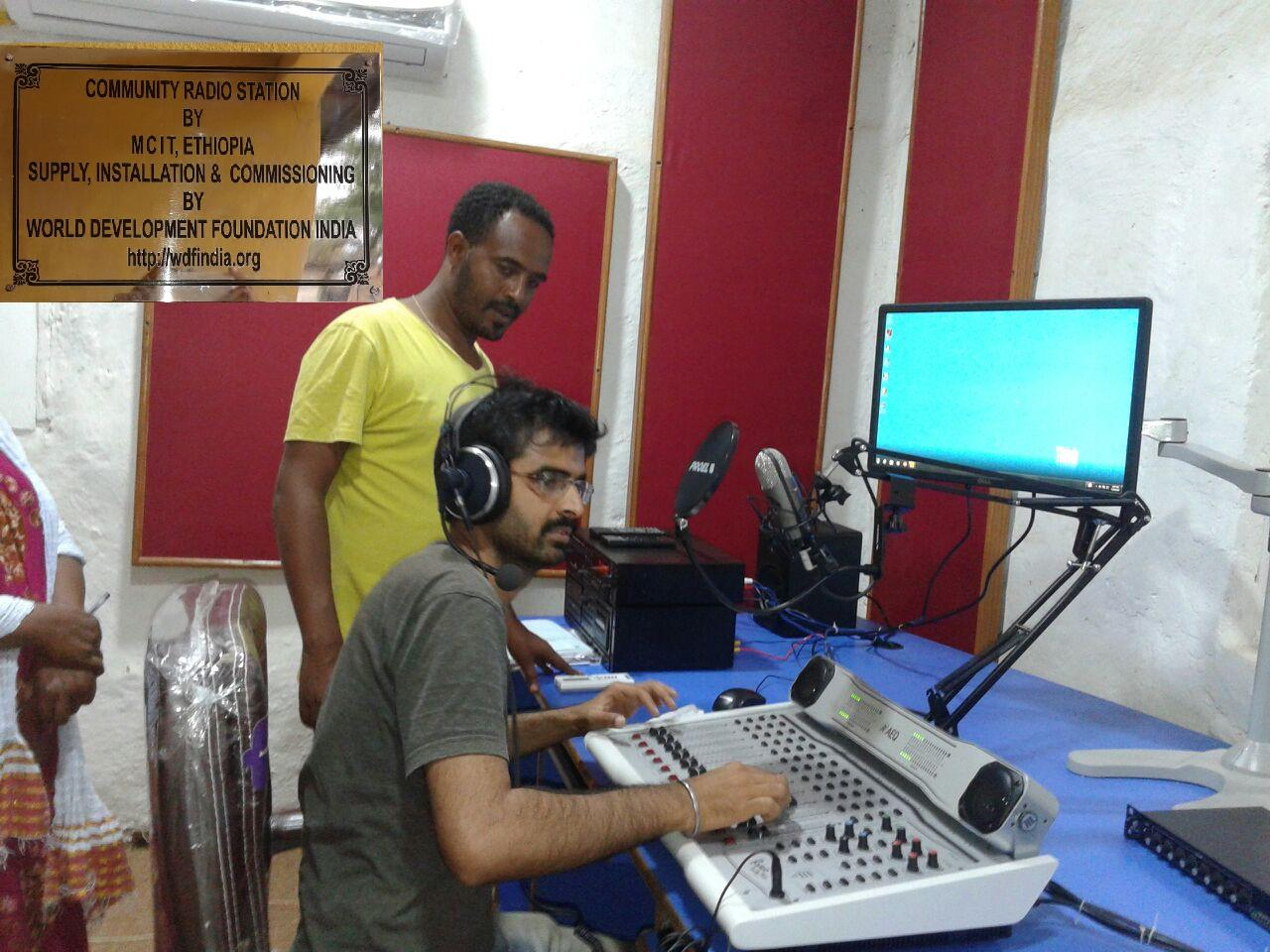 New community radio station in Ari, Ethiopia